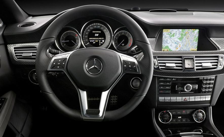 2012 Mercedes-Benz CLS-class (European spec) - Slide 11