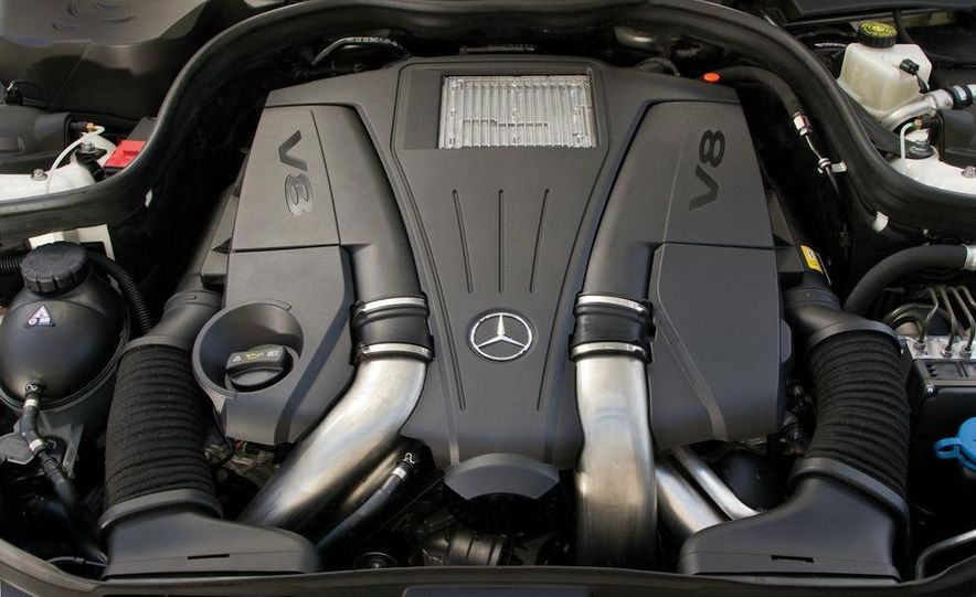 2012 Mercedes-Benz CLS-class (European spec) - Slide 20