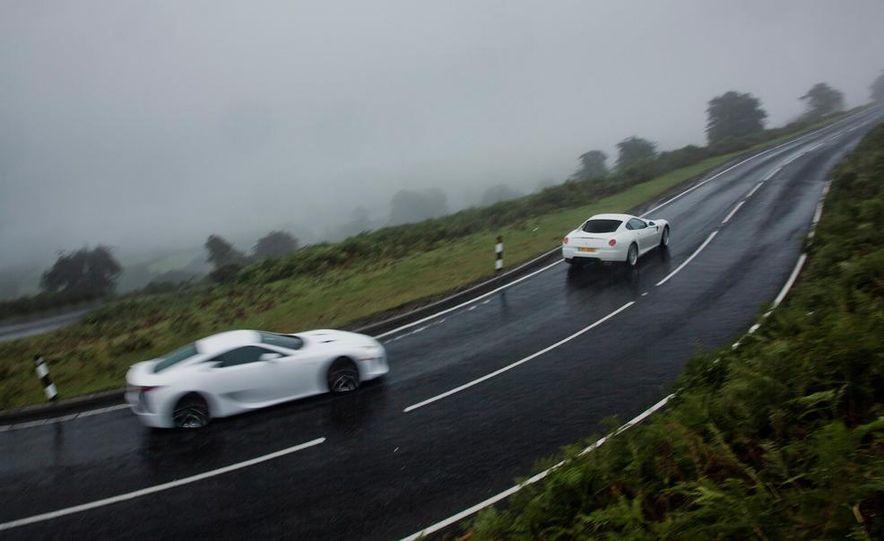 2012 Lexus LFA and 2011 Ferrari 599 HGTE - Slide 2