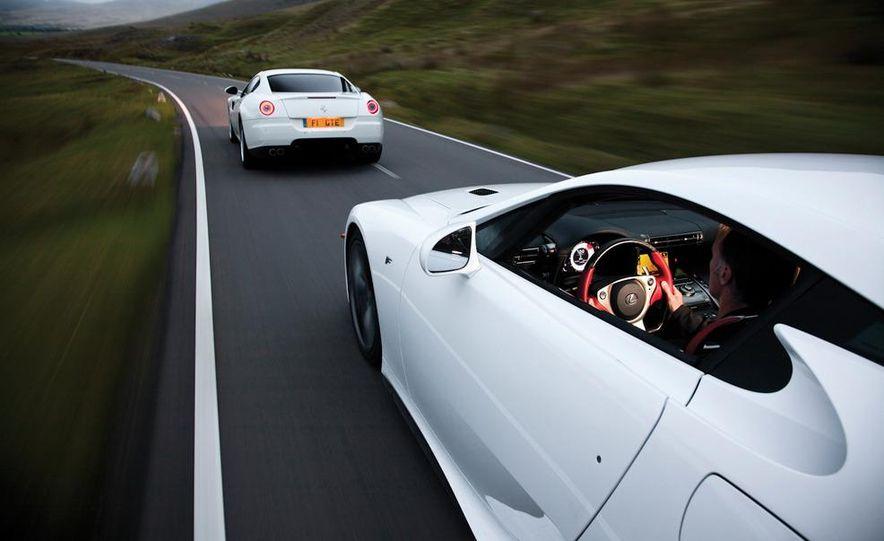 2012 Lexus LFA and 2011 Ferrari 599 HGTE - Slide 9