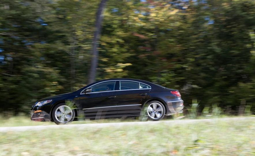 2010 Volkswagen CC 2.0T R-Line, 2010 Acura TSX V-6, and 2011 Buick Regal CXL Turbo - Slide 43