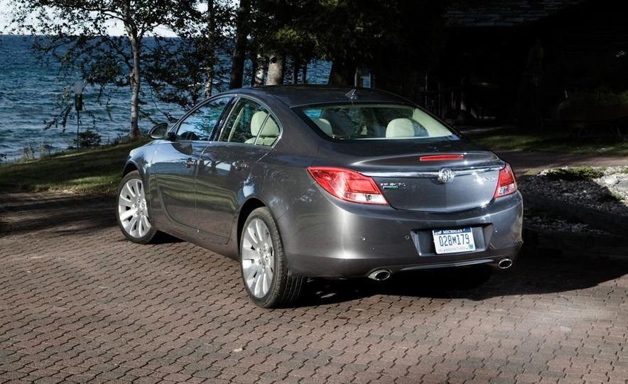 2010 Volkswagen CC 2.0T R-Line, 2010 Acura TSX V-6, and 2011 Buick Regal CXL Turbo - Slide 5