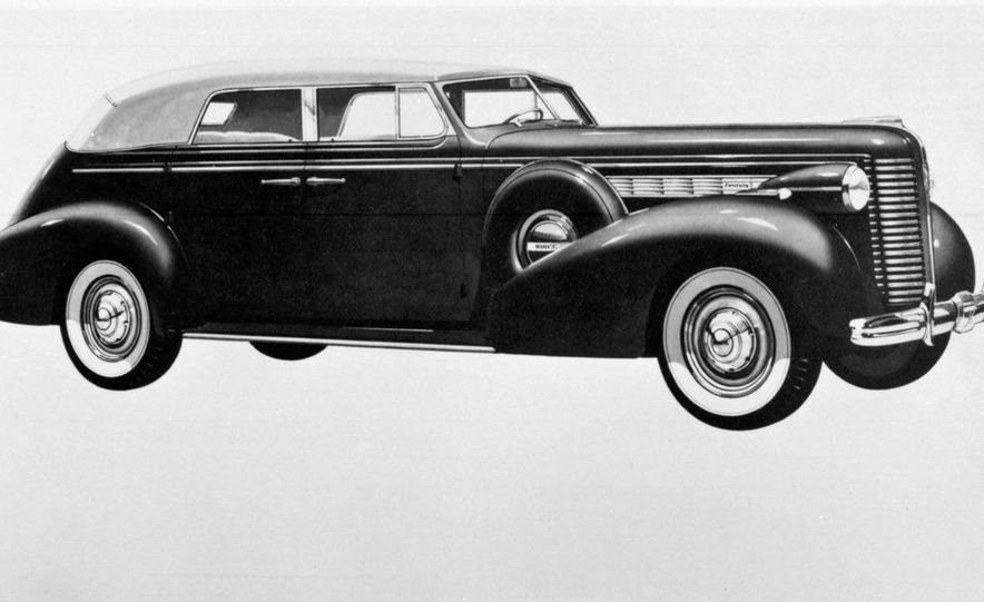 1938 Buick Century Convertible Phaeton (Model 60-C ) - Slide 1