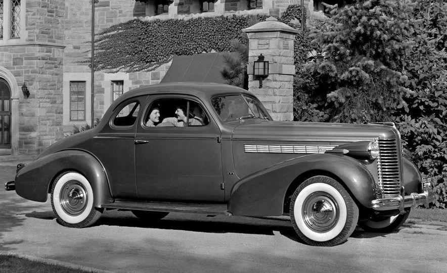 1938 Buick Century Convertible Phaeton (Model 60-C ) - Slide 2