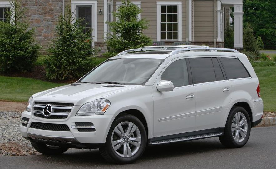 2011 Mercedes-Benz GL350 BlueTec 4MATIC - Slide 1