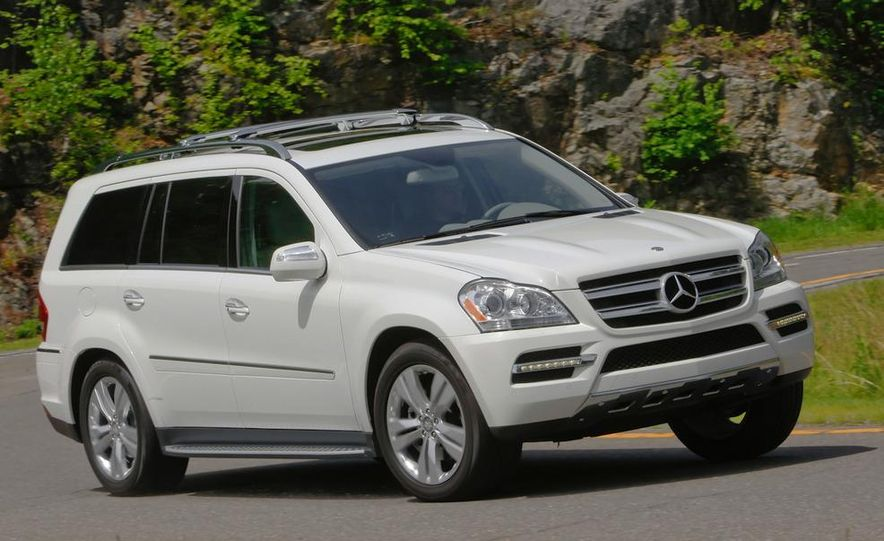 2011 Mercedes-Benz GL350 BlueTec 4MATIC - Slide 8