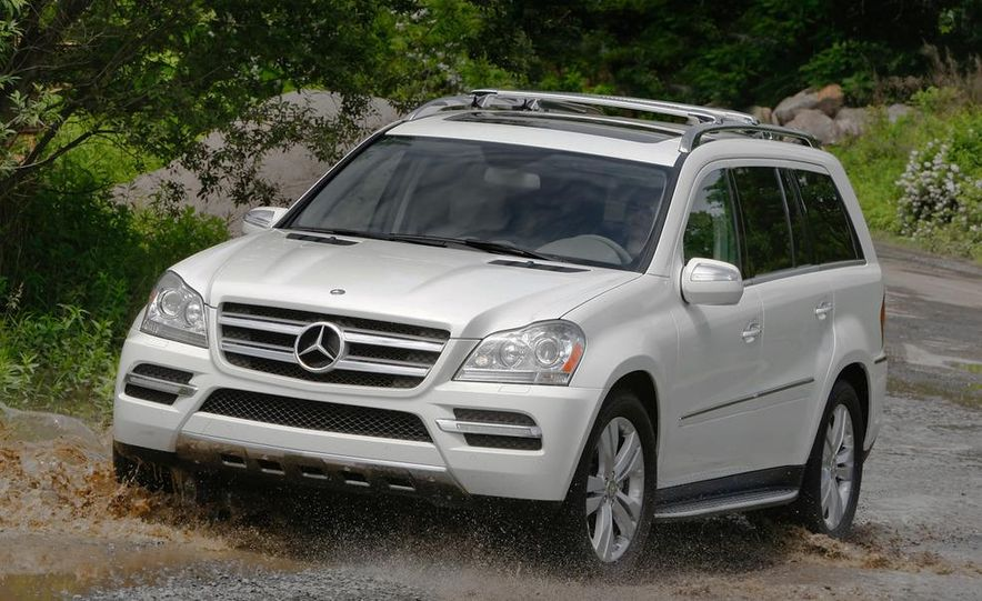 2011 Mercedes-Benz GL350 BlueTec 4MATIC - Slide 12