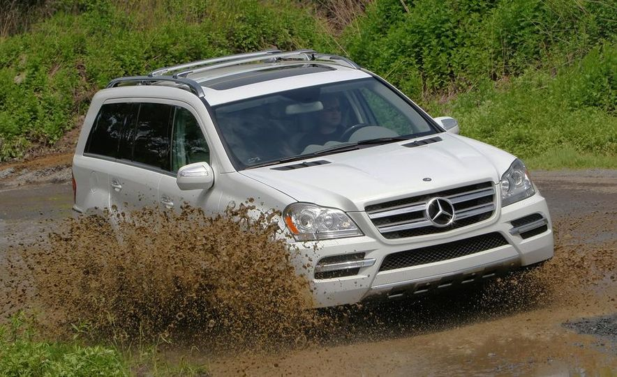 2011 Mercedes-Benz GL350 BlueTec 4MATIC - Slide 13