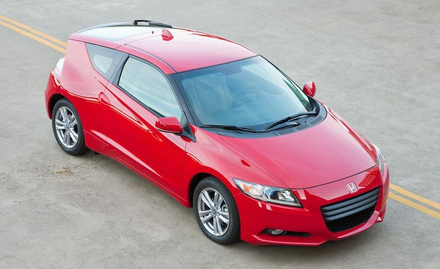 2011 Honda CR-Z EX - Slide 9