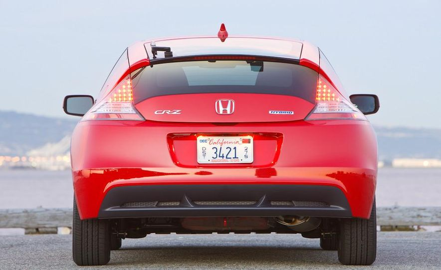 2011 Honda CR-Z EX - Slide 10