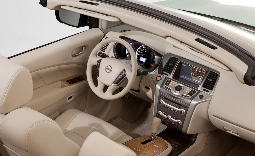 2011 Nissan Murano CrossCabriolet - Slide 64