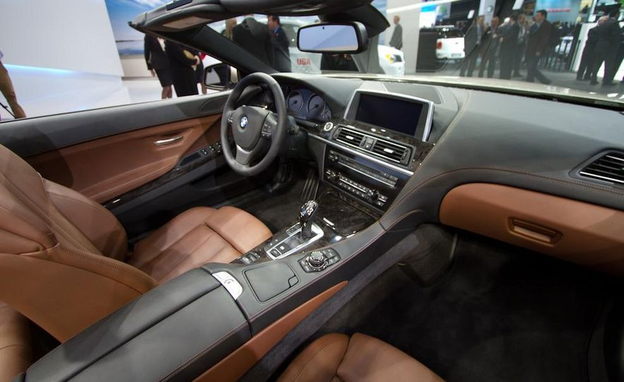 2012 BMW 650i convertible - Slide 12