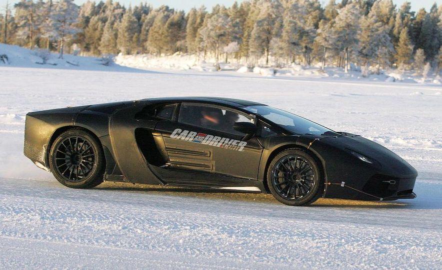 Lamborghini 6.5-liter V-12 engine - Slide 33