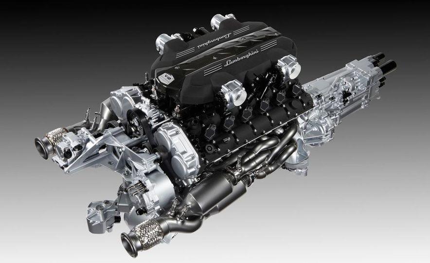 Lamborghini 6.5-liter V-12 engine - Slide 7