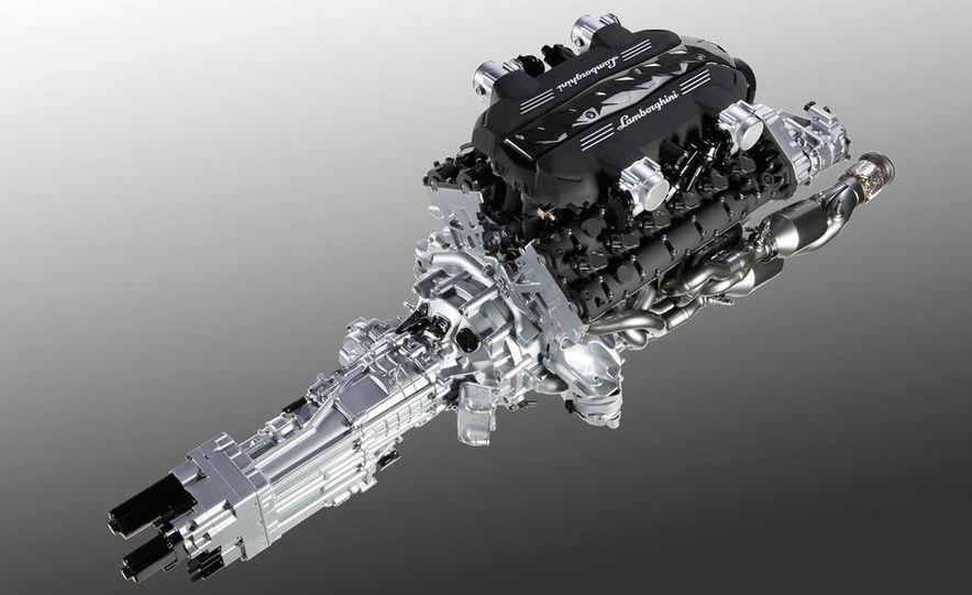 Lamborghini 6.5-liter V-12 engine - Slide 8