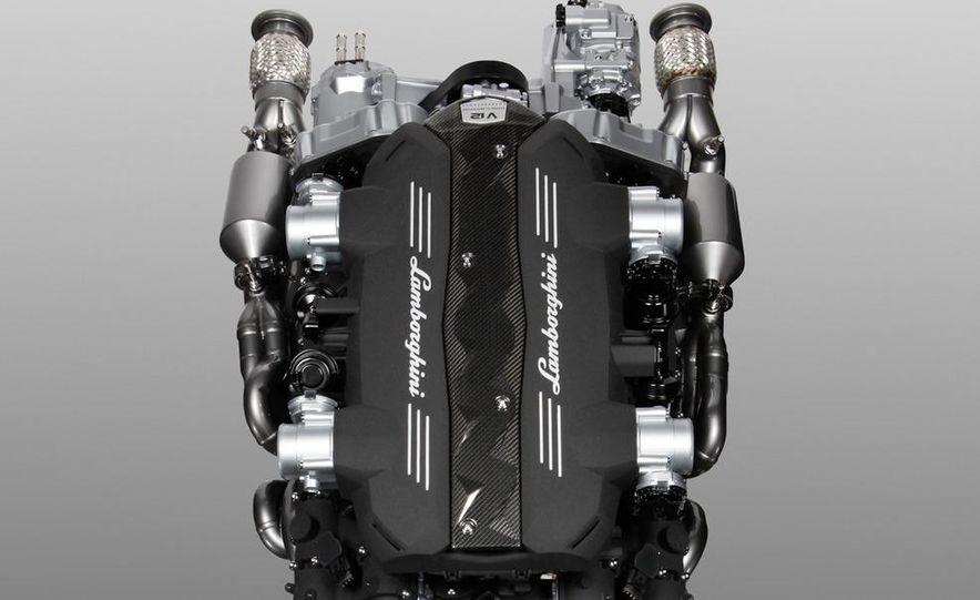 Lamborghini 6.5-liter V-12 engine - Slide 5