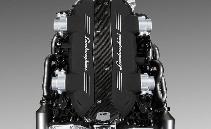 Lamborghini 6.5-liter V-12 engine - Slide 10