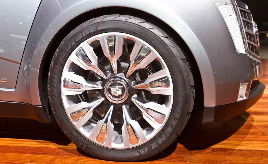 Cadillac Urban Luxury concept - Slide 15