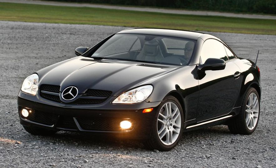 2012 Mercedes-Benz SLK-class (prototype) - Slide 22