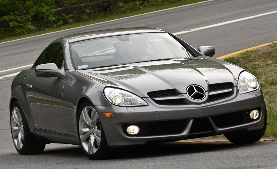 2012 Mercedes-Benz SLK-class (prototype) - Slide 48
