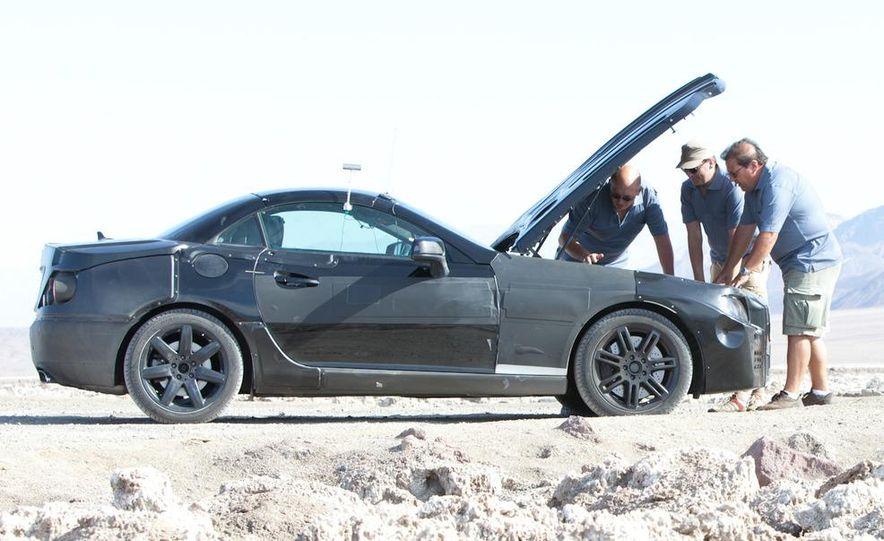 2012 Mercedes-Benz SLK-class (prototype) - Slide 6
