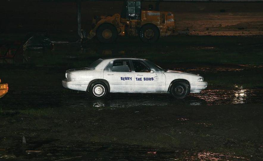 "Benny ""the Bomb"" Koske: The Stuntman Who Blows Himself Up Inside Cars - Slide 1"