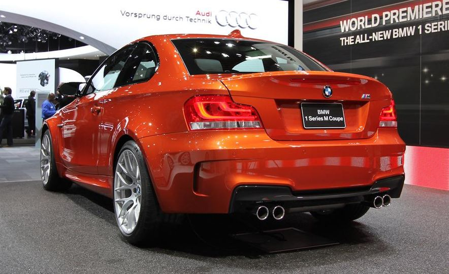 2011 BMW 1-series M coupe - Slide 8