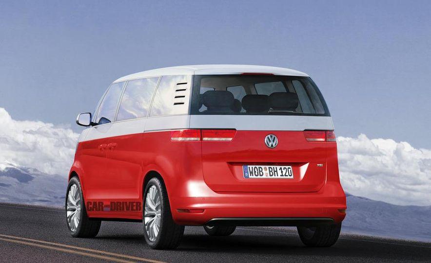 2014 Volkswagen Microbus (artist's rendering) - Slide 2