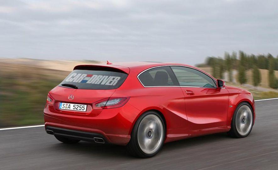 2013 Mercedes-Benz A-class (artist's rendering) - Slide 2