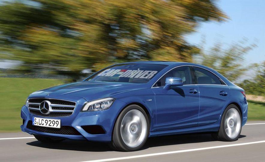 2013 Mercedes-Benz A-class (artist's rendering) - Slide 3