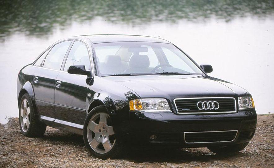 2001 Honda Accord sedan, BMW 5-series sedan, Honda S2000, Audi A6, Porsche Boxster S, Audi TT coupe, Ford Focus ZX3, Chrysler PT Cruiser, BMW 3-series convertible - Slide 2
