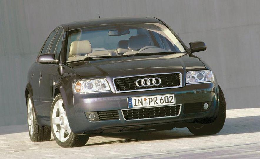2001 Honda Accord sedan, BMW 5-series sedan, Honda S2000, Audi A6, Porsche Boxster S, Audi TT coupe, Ford Focus ZX3, Chrysler PT Cruiser, BMW 3-series convertible - Slide 14