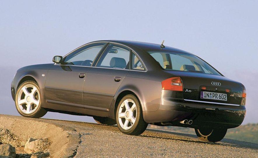 2001 Honda Accord sedan, BMW 5-series sedan, Honda S2000, Audi A6, Porsche Boxster S, Audi TT coupe, Ford Focus ZX3, Chrysler PT Cruiser, BMW 3-series convertible - Slide 16