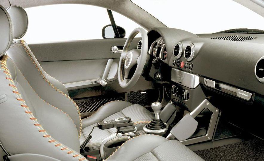 2001 Honda Accord sedan, BMW 5-series sedan, Honda S2000, Audi A6, Porsche Boxster S, Audi TT coupe, Ford Focus ZX3, Chrysler PT Cruiser, BMW 3-series convertible - Slide 22