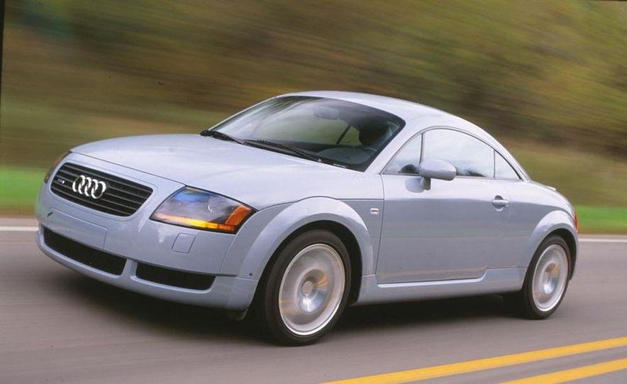 2001 Honda Accord sedan, BMW 5-series sedan, Honda S2000, Audi A6, Porsche Boxster S, Audi TT coupe, Ford Focus ZX3, Chrysler PT Cruiser, BMW 3-series convertible - Slide 3