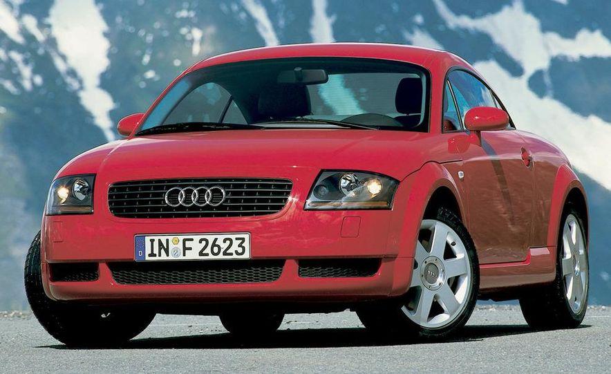 2001 Honda Accord sedan, BMW 5-series sedan, Honda S2000, Audi A6, Porsche Boxster S, Audi TT coupe, Ford Focus ZX3, Chrysler PT Cruiser, BMW 3-series convertible - Slide 19