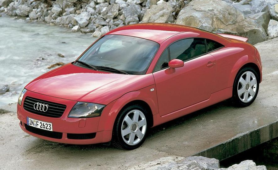 2001 Honda Accord sedan, BMW 5-series sedan, Honda S2000, Audi A6, Porsche Boxster S, Audi TT coupe, Ford Focus ZX3, Chrysler PT Cruiser, BMW 3-series convertible - Slide 20