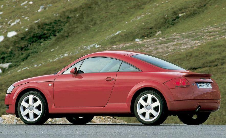 2001 Honda Accord sedan, BMW 5-series sedan, Honda S2000, Audi A6, Porsche Boxster S, Audi TT coupe, Ford Focus ZX3, Chrysler PT Cruiser, BMW 3-series convertible - Slide 21
