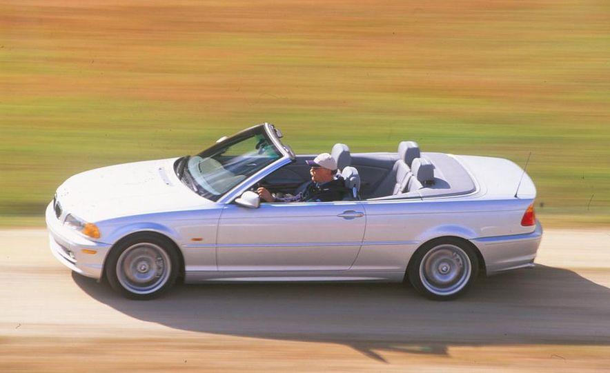 2001 Honda Accord sedan, BMW 5-series sedan, Honda S2000, Audi A6, Porsche Boxster S, Audi TT coupe, Ford Focus ZX3, Chrysler PT Cruiser, BMW 3-series convertible - Slide 4