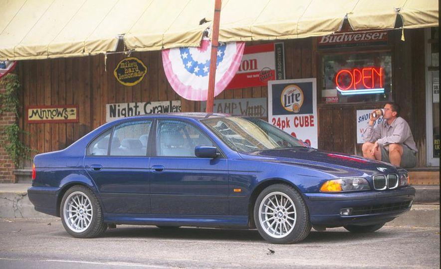 2001 Honda Accord sedan, BMW 5-series sedan, Honda S2000, Audi A6, Porsche Boxster S, Audi TT coupe, Ford Focus ZX3, Chrysler PT Cruiser, BMW 3-series convertible - Slide 5