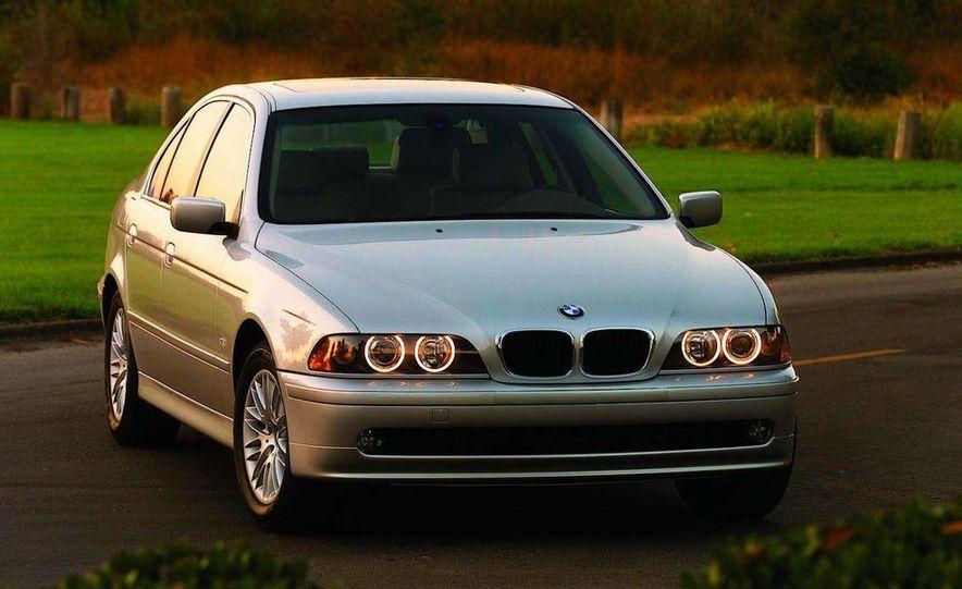 2001 Honda Accord sedan, BMW 5-series sedan, Honda S2000, Audi A6, Porsche Boxster S, Audi TT coupe, Ford Focus ZX3, Chrysler PT Cruiser, BMW 3-series convertible - Slide 23
