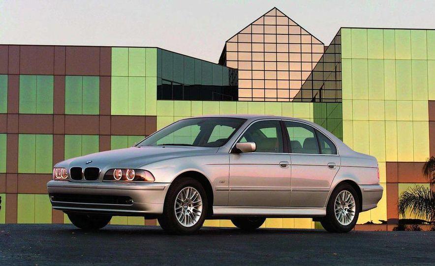 2001 Honda Accord sedan, BMW 5-series sedan, Honda S2000, Audi A6, Porsche Boxster S, Audi TT coupe, Ford Focus ZX3, Chrysler PT Cruiser, BMW 3-series convertible - Slide 24