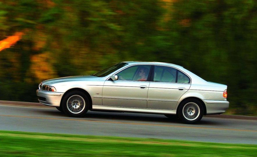 2001 Honda Accord sedan, BMW 5-series sedan, Honda S2000, Audi A6, Porsche Boxster S, Audi TT coupe, Ford Focus ZX3, Chrysler PT Cruiser, BMW 3-series convertible - Slide 25