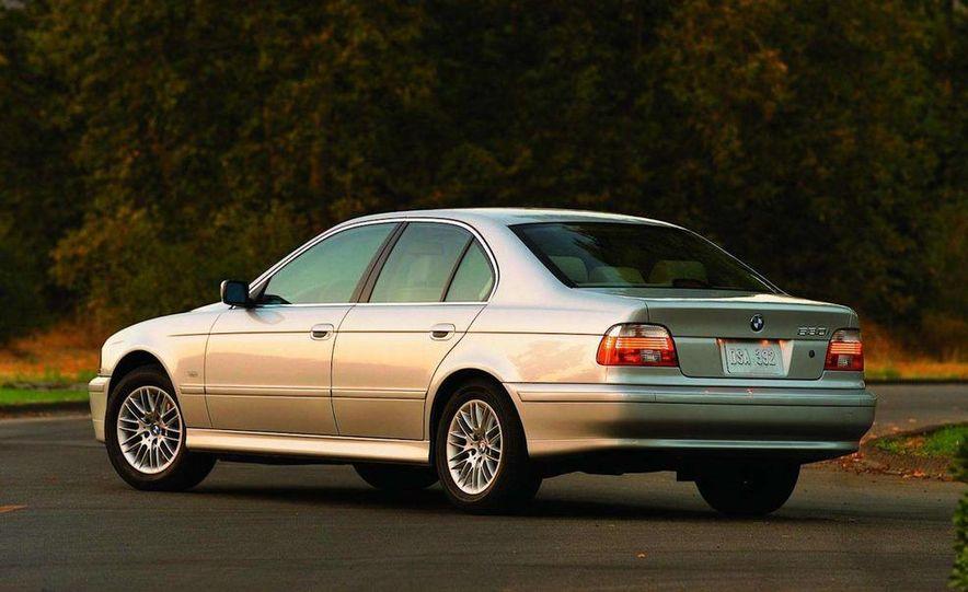 2001 Honda Accord sedan, BMW 5-series sedan, Honda S2000, Audi A6, Porsche Boxster S, Audi TT coupe, Ford Focus ZX3, Chrysler PT Cruiser, BMW 3-series convertible - Slide 26