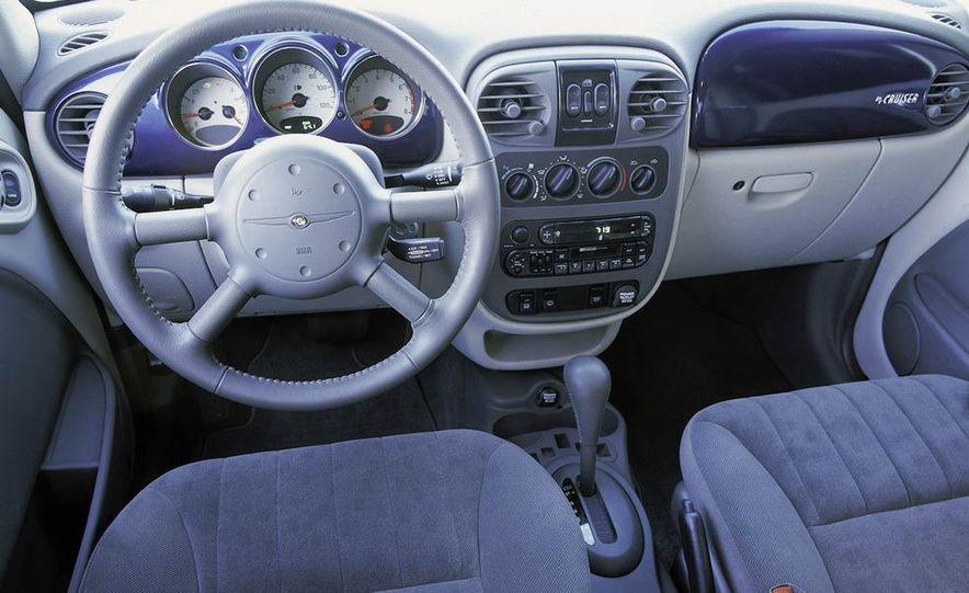 2001 Honda Accord sedan, BMW 5-series sedan, Honda S2000, Audi A6, Porsche Boxster S, Audi TT coupe, Ford Focus ZX3, Chrysler PT Cruiser, BMW 3-series convertible - Slide 32