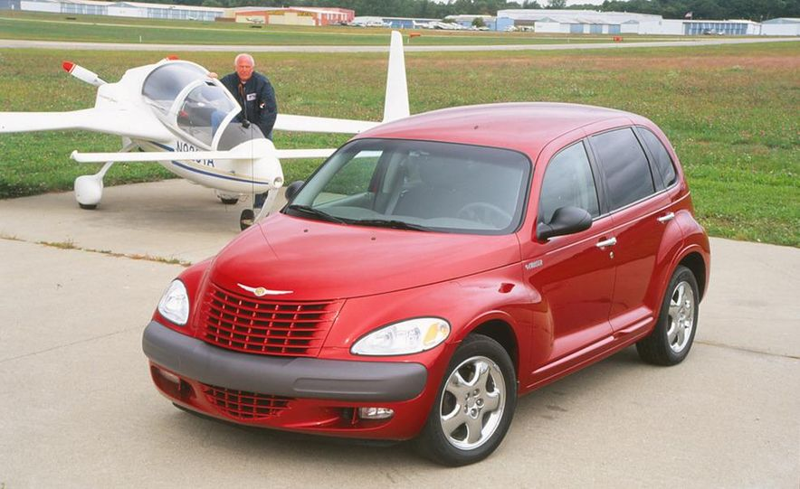2001 Honda Accord sedan, BMW 5-series sedan, Honda S2000, Audi A6, Porsche Boxster S, Audi TT coupe, Ford Focus ZX3, Chrysler PT Cruiser, BMW 3-series convertible - Slide 6