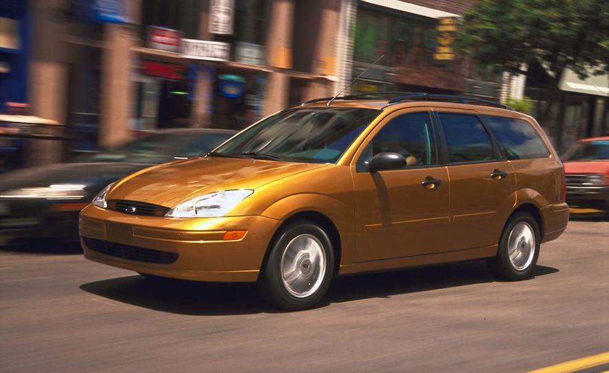 2001 Honda Accord sedan, BMW 5-series sedan, Honda S2000, Audi A6, Porsche Boxster S, Audi TT coupe, Ford Focus ZX3, Chrysler PT Cruiser, BMW 3-series convertible - Slide 33