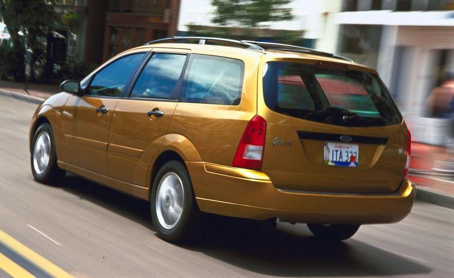 2001 Honda Accord sedan, BMW 5-series sedan, Honda S2000, Audi A6, Porsche Boxster S, Audi TT coupe, Ford Focus ZX3, Chrysler PT Cruiser, BMW 3-series convertible - Slide 34