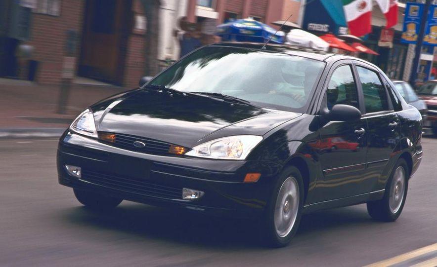 2001 Honda Accord sedan, BMW 5-series sedan, Honda S2000, Audi A6, Porsche Boxster S, Audi TT coupe, Ford Focus ZX3, Chrysler PT Cruiser, BMW 3-series convertible - Slide 38