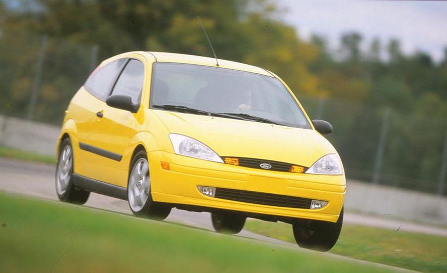 2001 Honda Accord sedan, BMW 5-series sedan, Honda S2000, Audi A6, Porsche Boxster S, Audi TT coupe, Ford Focus ZX3, Chrysler PT Cruiser, BMW 3-series convertible - Slide 7